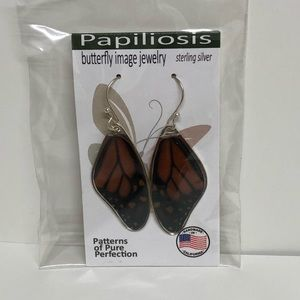 Papiliosis Sterling Silver Earrings
